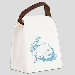 White Rabbit Canvas Lunch Bag