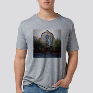 Edinburgh, Scotland Scene Mens Tri-blend T-Shirt