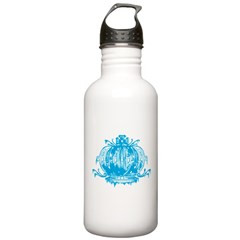 Blue Gothic Crown Stainless Water Bottle Water Bottle