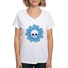 Blue Gothflower Shirt