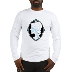 Pretty Skull Cameo Long Sleeve T-Shirt