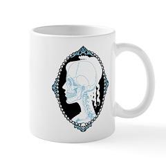 Pretty Skull Cameo Mug