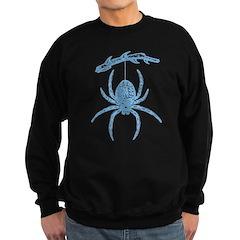 Blue Spider Sweatshirt (dark)