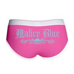 Malice Blue Women's Boy Brief