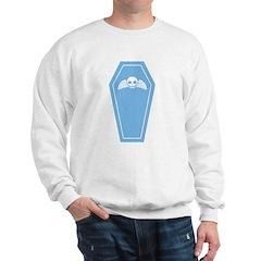 Cute Blue Coffin Sweatshirt