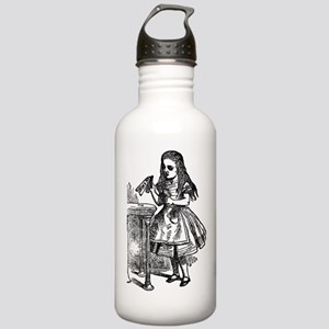 Vintage Alice Drink Me Stainless Water Bottle 1.0L