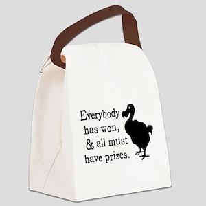 Alice Dodo Everybody Has Won Canvas Lunch Bag