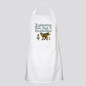 Alice Gryphon Explanations Apron