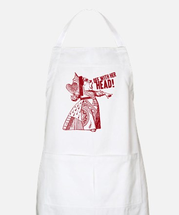 Red Queen Off With Her Head Apron