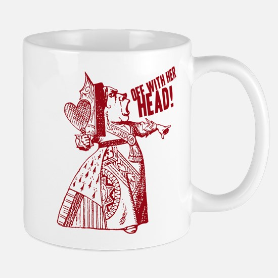 Red Queen Off With Her Head Mug