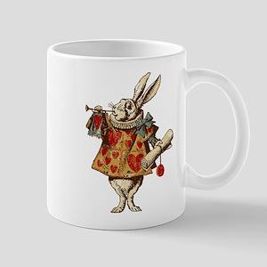 Alice White Rabbit Vintage Mug