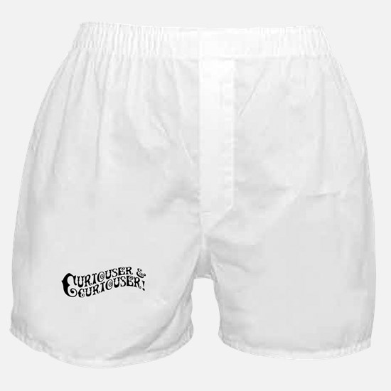 Curiouser And Curiouser Boxer Shorts