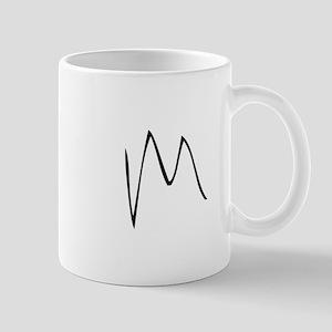 Elementary Monogram M Mug