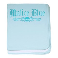 Malice Blue baby blanket