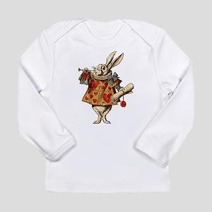 Alice White Rabbit Vintage Long Sleeve Infant T-Sh