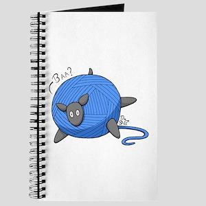 Sheep Yarn Ball Journal