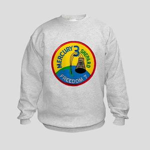 Freedom 7 Alan Shepherd Kids Sweatshirt