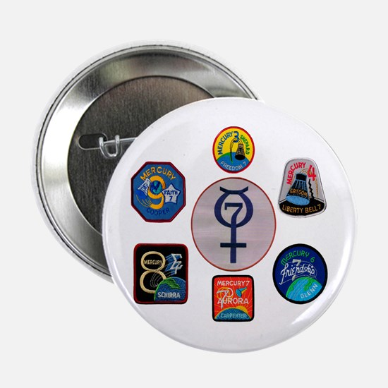 "Mercury Commemorative 2.25"" Button"