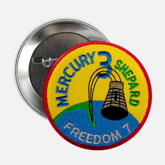 "Freedom 7 Alan Shepherd 2.25"" Button"