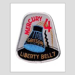 Liberty Bell 7 Gus Grissom Small Poster
