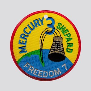 Freedom 7 Alan Shepherd Ornament (Round)