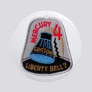 Liberty Bell 7 Gus Grissom Ornament (Round)