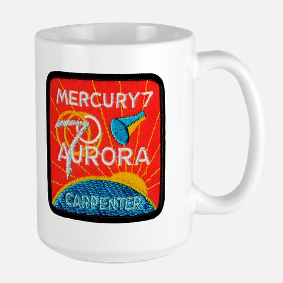 Aurora 7-Scott Carpenter Large Mug
