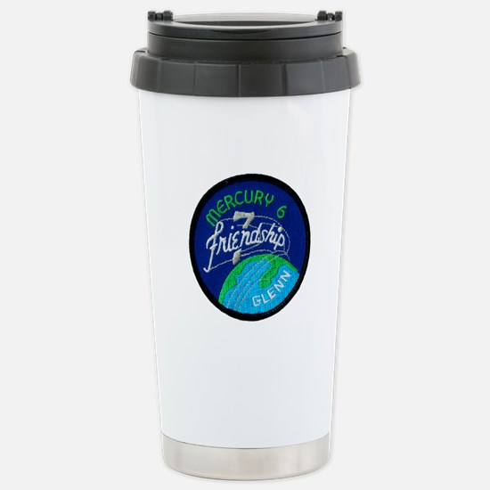 Friendship 7-John Glenn Stainless Steel Travel Mug