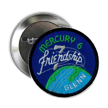 "Friendship 7–John Glenn 2.25"" Button"