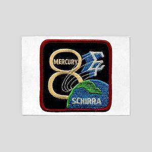 Sigma 7-Wally Schirra 5'x7'Area Rug