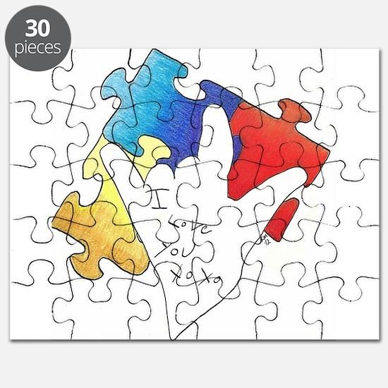 Deaf Autism Puzzle