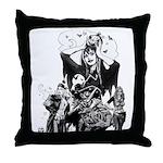 CUTE! Nocturnals Halloween Girl Throw Pillow