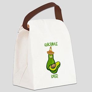 Guacamole Lover Canvas Lunch Bag