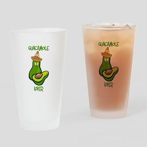 Guacamole Lover Drinking Glass