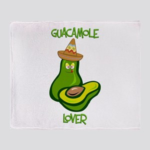 Guacamole Lover Throw Blanket