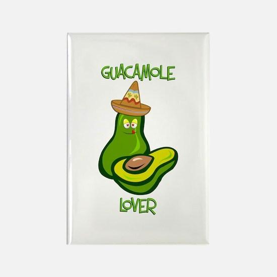 Guacamole Lover Rectangle Magnet