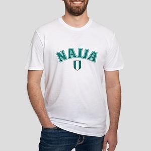 naija soccer shirt Fitted T-Shirt