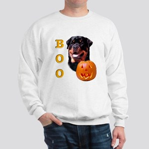 Halloween Rottie Boo Sweatshirt