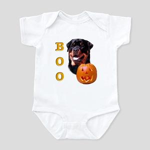 Halloween Rottie Boo Infant Bodysuit