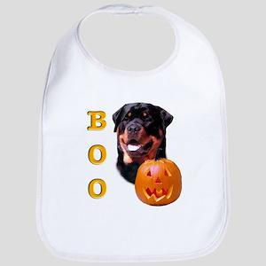Halloween Rottie Boo Bib