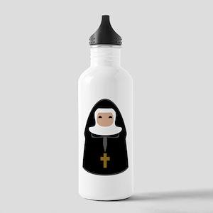 Cute Nun Stainless Water Bottle 1.0L