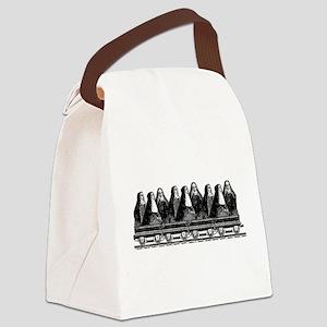 Nun Train Canvas Lunch Bag