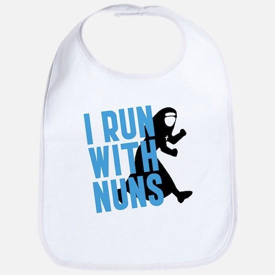 I Run With Nuns Bib
