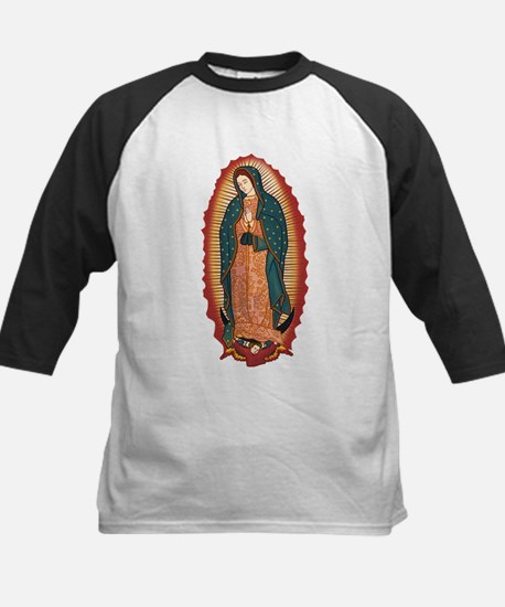 Virgin Of Guadalupe Kids Baseball Jersey