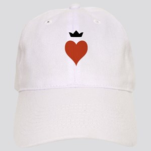 Heart With Crown Cap
