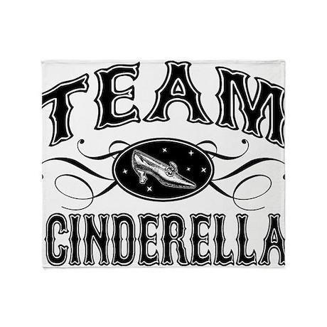Team Cinderella Throw Blanket