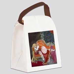Briar Rose Canvas Lunch Bag