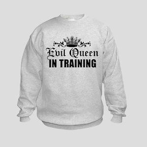 Evil Queen In Training Kids Sweatshirt