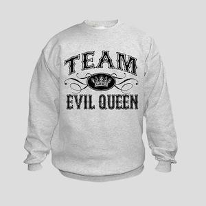 Team Evil Queen Kids Sweatshirt