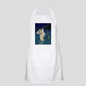 Mermaid In the Water Apron
